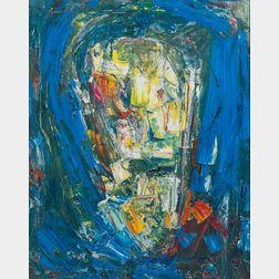 Hans Hofmann (American, 1880-1966)      Image in Blue