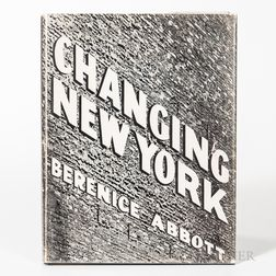 Abbott, Berenice (1898-1991) Changing New York: Photographs by Berenice Abbott.