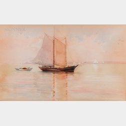 American School, 19th/20th Century      Early Morning Sail