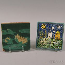 Two Pottery Tiles