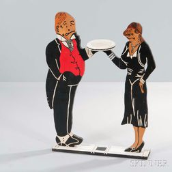 Jiggs and Maggie Butler Tray