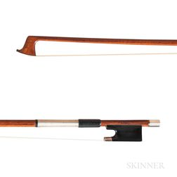 English Silver-mounted Violin Bow, W.E. Hill & Sons