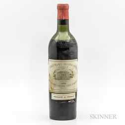 Chateau Margaux 1952, 1 bottle