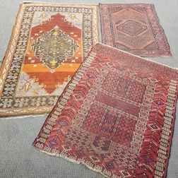 Two Rugs and a Tekke Engsi