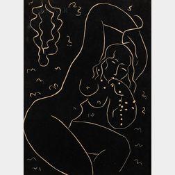 After Henri Matisse (French, 1869-1954)      Nu au bracelet