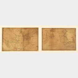Two Schoolgirl Maps