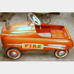 "Murray Ohio ""Fire Chief"" Pedal Car"