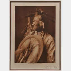 Framed Photogravure by Edward S. Curtis   (1868-1952)