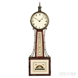 "Simon Willard Patent Timepiece or ""Banjo Clock,"""