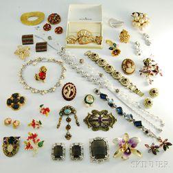 Group of Designer Costume Jewelry