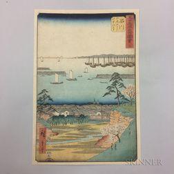 Utagawa Hiroshige (1797-1858), Shinagawa