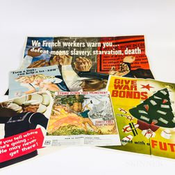 Forty WWII Posters