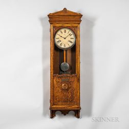Bundy Time Recorder Wall Clock