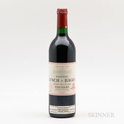 Chateau Lynch Bages 1989, 1 bottle