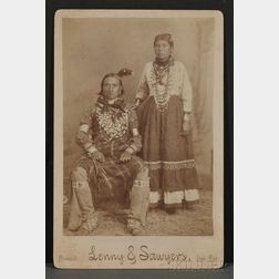 Cabinet Card by Lenny and Sawyer