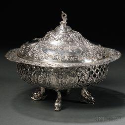 Hanau Rococo-style Silver Covered Dish