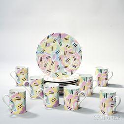 Robert Venturi (b. 1925) Grandmother Pattern Dinnerware Service