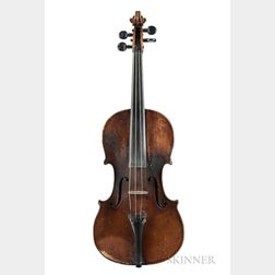 German Violin, Heinrich Th. Heberlein, Jr., Markneukirchen, 1899