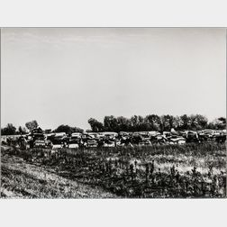 Walker Evans (American, 1903-1975)       Auto Graveyard, Probably Pennsylvania