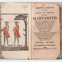 An Affecting Narrative of the Captivity and Sufferings of Mrs. Mary Smith.