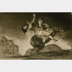 Jose Francisco de Goya y Lucientes (Spanish, 1746-1828)    La Mujer y el Potro, Que los Dome Otro