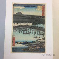 Utagawa Hiroshige (1797-1858), Nihonbashi
