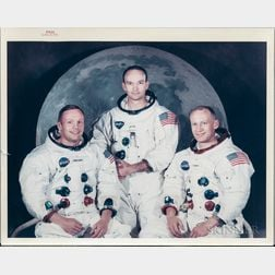 Apollo 11, Prime Crew Photograph, May 1969.