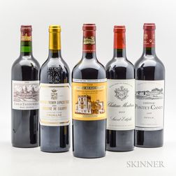 Mixed Bordeaux 2008, 5 bottles