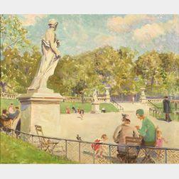 Helena Sturtevant (American, 1871-1946)  People in the Park