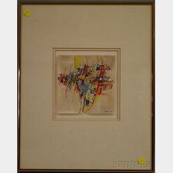 Albert S. Alcalay (American, b. 1917)      Abstract