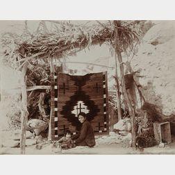 Adam Clark Vroman Print of a Navajo Weaver