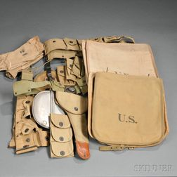 Group of Spanish American War Through WWI Objects