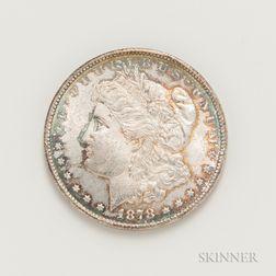 1878-CC Morgan Dollar.     Estimate $200-400