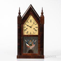 William S. Johnson's Mahogany Steeple Clock
