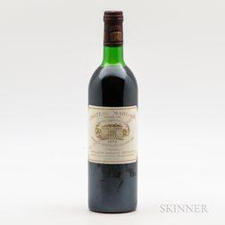 Chateau Margaux 1979, 1 bottle