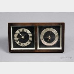 Chelsea Desk Timepiece and Barometer Retailed by Abercrombie & Fitch