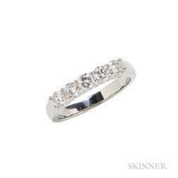 14kt White Gold and Diamond Ring