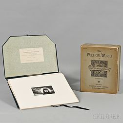 Longfellow, Henry Wadsworth (1807-1882) Edition de Luxe. Longfellow Portfolio, Being a Selection of Seventy-Five Artist-Proofs from the