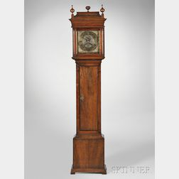 John Wood Sr. Walnut Eight-day Tall Clock
