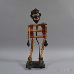 Plaster Marionette of a Man