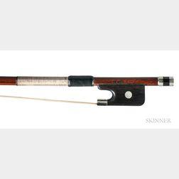 Nickel-mounted Viola Bow, John Norwood Lee