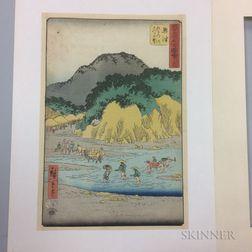 Utagawa Hiroshige (1797-1858), Okitsu