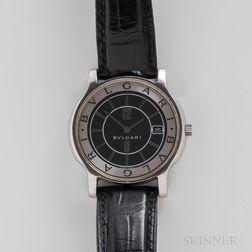 """Bulgari """"Solotempo"""" Quartz Wristwatch"""