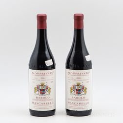 Mascarello Barolo Monprivato 2001, 2 bottles