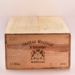 Chateau Malescot St. Exupery 2010, 12 bottles (owc)