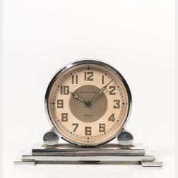 Waltham Art Deco Partners' Desk Clock