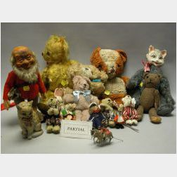 Miscellaneous Steiff and Stuffed Animals