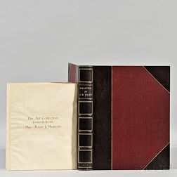 Fine Art Auction Catalogs, 19th Century, Two Volumes.