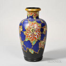Large Gouda Pottery Regina Avia   Vase
