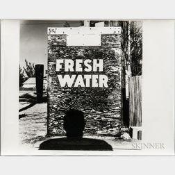 Walker Evans (American, 1903-1975)       Anna Maria Island, Florida